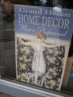 shop sign by coastal nest, via Flickr