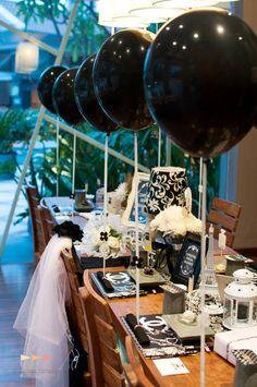 Chanel Bridal Shower via Kara's Party Ideas