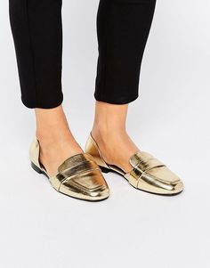 ASOS+MYRA+Wide+Fit+Flat+Shoes