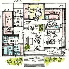 けいかく中 – DUO – - 名古屋市の住宅設計事務所 フィールド平野一級建築士事務所
