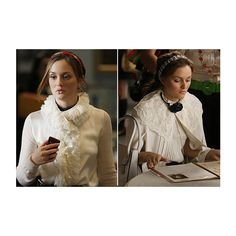 Analizamos el 'look' de Blair Waldorf (GG) ❤ liked on Polyvore featuring gossip girl, leighton meester and people