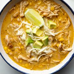 Fast White Chicken Chili by Ree Drummond recipe crockpot food network Fast White Chicken Chili Chili Recipes, Crockpot Recipes, Soup Recipes, Chicken Recipes, Dinner Recipes, Ninja Recipes, Recipe Chicken, Chicken Soup, White Bean Chicken Chili