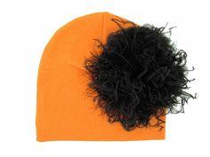Orange Cotton Hat