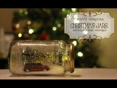 Compilations of Christmas projects Uses For Mason Jars, Mason Jar Crafts, Mason Jar Diy, Christmas Jars, Handmade Christmas, Christmas Decorations, Christmas Images, Diy Snow Globe, Snow Globes
