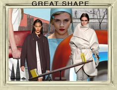 Great Shape Trend Board Fall 2013
