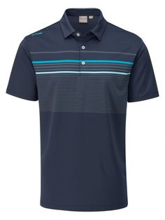 Mens Golf Outfit, Oxford Blue, Golf Polo Shirts, Ladies Golf, Shirt Designs, Trousers, Athletic, Mens Fashion, Patterns
