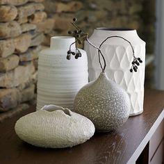 Kerr Vase in Vases   Crate and Barrel