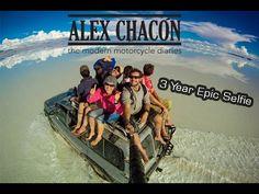 Este hombre se tomó selfies durante 600 días viajando y el resultado es increíble   Upsocl