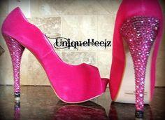 hot pink heels!!