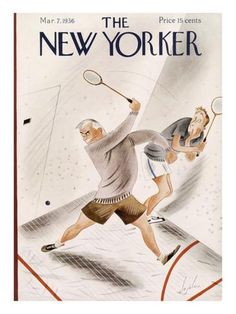 The New Yorker Cover - March 7, 1936