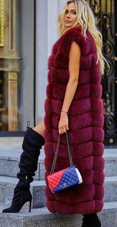 Chanel & Maxi Fox Fur Vest