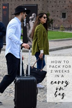 Trying to sneak through a 2 week trip with just a carry on? Here's how you do it!