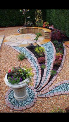 fine Great Pebbles Ideas with Nice Shapes to Beautify Your Outdoor backyard landscaping landscaping garden landscaping Garden Yard Ideas, Garden Projects, Garden Art, Garden Paths, Backyard Ideas, Craft Projects, Big Garden, Patio Ideas, Project Ideas