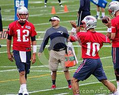 Tom Brady and Jimmy Garoppolo