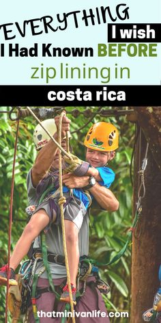 Zip lining with our kids in Manuel Antonio National Park in Costa Rica was the highlight of our trip. Even if you're afraid of heights like I am, you won't want to miss this! Check out this post for all you need to know about zip lining in Costa Rica! #costarica #manuelantonio #ziplining #familytravel Road Trip With Kids, Travel With Kids, Family Travel, Road Trip Games, Road Trips, Affordable Family Vacations, Best Travel Credit Cards, Zip Lining, Minivan