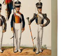 Chorąży i Tamburmajor 4 pułku piechoty liniowej Drum Major, French Revolution, Napoleonic Wars, Period, Captain Hat, November, Army, Polish, Punk
