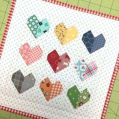 HOW-TO -- Bee In My Bonnet: Farm Girl Friday - Week 2 -Simple Farm Girl Pillow and Scrappy Happy Hearts Mini Tutorial!