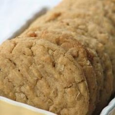 Peanut Butter Oatmeal Cookies-I have now made these cookies twice and they are wonderful.  I sub 1/2 of whole wheat flour for ground almond.  I also add choc chips.