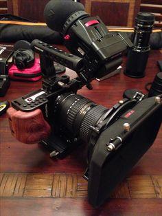 My new blackmagic pocket cinema camera setup #Bmpcc #movcam #zacuto