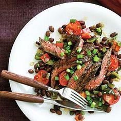 Skirt steak, Steaks and Potatoes on Pinterest
