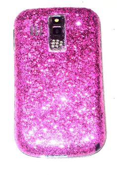 It's hot pink and glittery!! Two of my favorite things