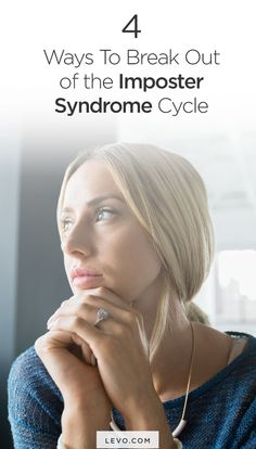 4 Ways To Break Out of the Imposter Syndrome Cycle Resume Advice, Career Advice, Career Ideas, Career Development, Personal Development, How To Handle Stress, Finding A New Job, Girl Empowerment, Career Inspiration
