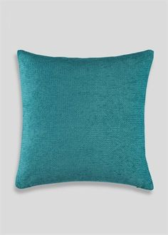 Chenille Cushion x Teal Cushions, Office Inspo, Matalan, Extension Ideas, Lounge, Turquoise, Room, Inspiration, Home Decor