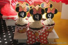 Julia y Minnie Mouse! | CatchMyParty.com