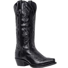 6860 Laredo Men's Hawk Western Boots - Black www.bootbay.com www.bootbay.com