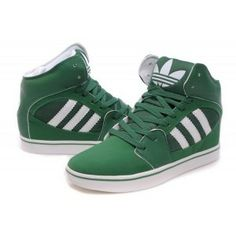Free Exchange Good Quality USA Adidas Skateboard High Shoes Men Green  Superior Materials New Arrival Hard Wearing