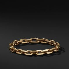 Shop our DY Fortune Heirloom Link Bracelet in Gold, from the distinctive style and timeless beauty of David Yurman. Gold Gold, White Gold, 18k Gold, Mens Gold Bracelets, Link Bracelets, David Yurman Mens, Aurelie Bidermann, Dior, Swarovski
