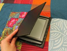 DIY instructions for outside (turning hardback book into kindle cover)
