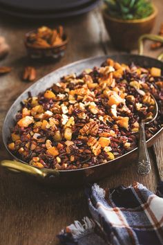 Pecan Wild Rice Pilaf Recipe