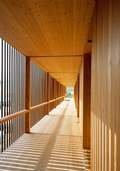Using wood to reach new heights - The Building with timber exhibition in Munich documents the potentialities afforded by this ancient material, making adventurous constructions a real possibility for Timber Architecture, Minimalist Architecture, Architecture Details, Wooden Facade, Concrete Wood, Wood Wood, Wood Arch, Social Housing, House Design