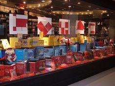 Vitrine 'Mondrian' - Travessa Shopping Leblon / Natal 2008