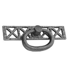Belwith Keeler 1 3/8 inches Cabinet Ring & Backplate Vibra Pewter…