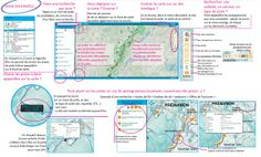 Plan des pistes ski de fond et raquette à neige Haut-Jura - Jura Tourisme