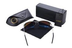 lvvkee 2017 New Luxury Brand Polarized driving Frame sunglasses Men Accessories night vision goggles Shades eyewear
