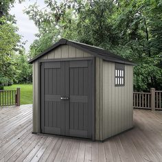 """Keter Oakland 7ft 6"""" x 9ft 4"""" (2.3 x 2.9m) Shed 