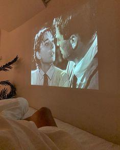 """i need a projector in my room to watch all my favourite movies 🥺"" My New Room, My Room, La Reverie, Brasilianischer Bikini, Deco Studio, Teenage Dream, Photo Instagram, Bedroom Inspo, Dream Life"