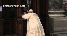 El Papa se confiesa en San Pedro