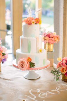 Artsy San Diego Wedding