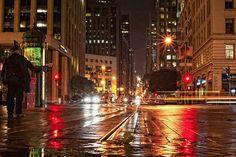 rainy streets :)