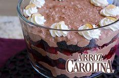 """Consiéntete hoy con esta espectacular """"Bagatela de Brownie"""". ¡Si dicen que de la vista nace el amor, imagínate el sabor!"""