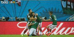 Cuplikan Gol Meksiko 1-0 Kamerun