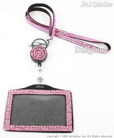 idk, could put a medicare card inside or something- 1 Set Lanyard Details: (1 Set for $10.00) (1 Set including: 1 Lanyard + 1 Retractable Reel + 1 Horizontal Badge Holder) * Color: Hot Pink * Other colors visit: https://www.etsy.com/listing/124703310/3-in-1-set-rhinestone-bling-lanyard-with * Compatible For: Key/ ID Badge /Cell Phone/USB... * Stone: Colorful Rhinestone * Back Material: Leather * Lanyards Size: length 17; Wide: 1&#x