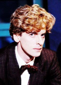 A young Peter Capaldi, ginger with a bowtie! I'm just gonna stare at this for a couple of minutes....