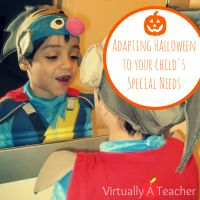 Adapting Halloween to your Child's Special Needs
