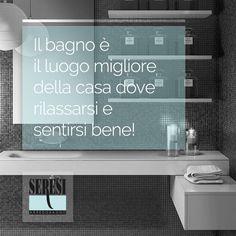il  bagno è il luogo migliore della casa dove rilassarsi e sentirsi bene!  Bathroom is the best place where you can get relax!