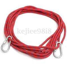 10m safety climbing tree rock #sling #rappelling rope #auxiliary cord equipment 3,  View more on the LINK: http://www.zeppy.io/product/gb/2/131819697000/
